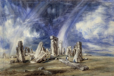Prehistoric Landmark of Stonehenge - by John Constable Photographic Print