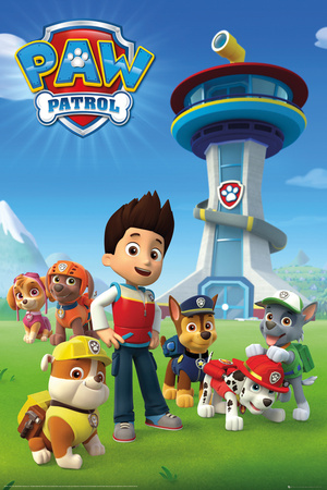 Paw Patrol Team Posters
