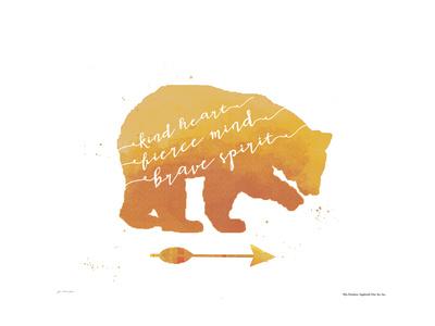 Brave Bear Art by Jo Moulton