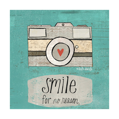 Smile Posters by Katie Doucette