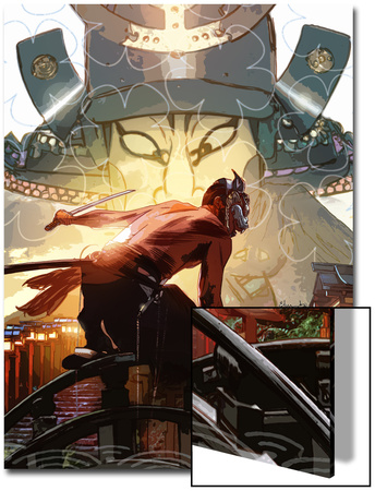 What If: Daredevil No.1 Cover: Daredevil Charging Prints by Tommy Lee Edwards