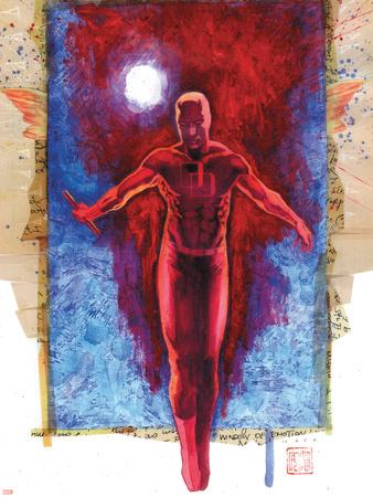 Daredevil No.500: Daredevil Plastic Sign by David Mack