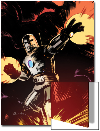 Marvel Adventures Iron Man No.9 Cover: Iron Man Posters by Tommy Lee Edwards