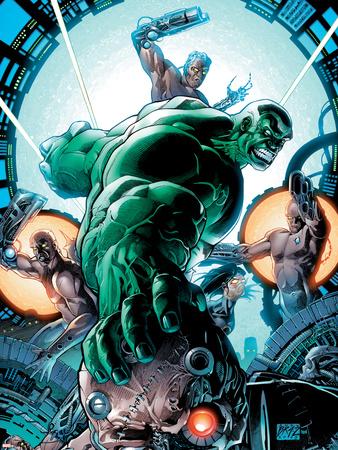 Incredible Hulk No.86 Cover: Hulk Wall Decal by Andy Brase