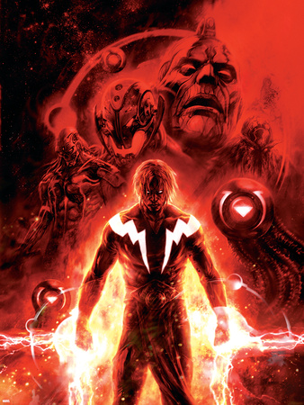 Annihilation: Conquest No.3 Cover: Adam Warlock Plastic Sign