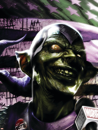 Thunderbolts No.129 Cover: Green Goblin Plastic Sign by Francesco Mattina