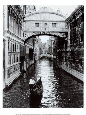 ベネチアの運河 高品質プリント : シンディ・シック