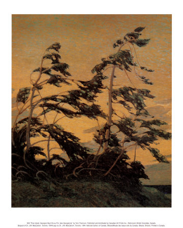 Pine Island, Georgian Bay Art Print
