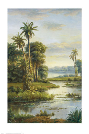 Island Serenity I Prints by Frank Bellows