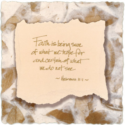 bible quotes about faith. bible quotes about faith. Words to Live by: Faith Art Print