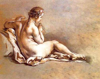 Boucher nude on sofa would like