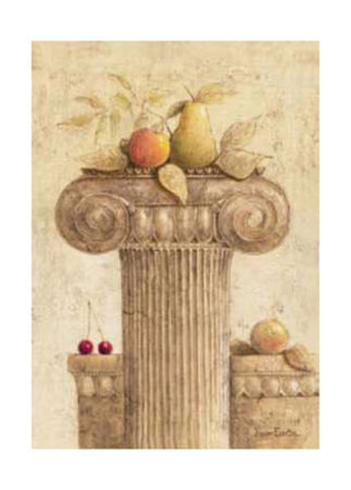 Capiteles con Frutas I Prints by Javier Fuentes