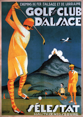 Golf Club d'Alsace Art Print