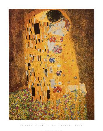 The Kiss, c.1907 Print by Gustav Klimt