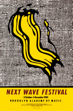 New Wave Festival Posters by Roy Lichtenstein