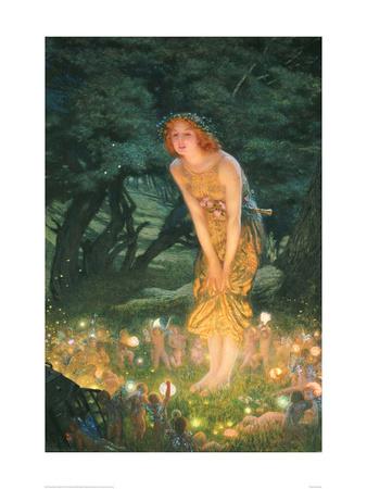 Midsummer Eve Fairies Art