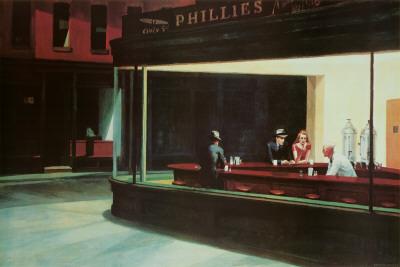 Natteravne, Nighthawks, ca. 1942 Posters af Edward Hopper