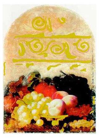 Hommage aux Flamands IV Kunstdrucke von P. Fox