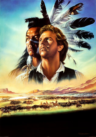 Dances with Wolves Posters by Renato Casaro at AllPosters.