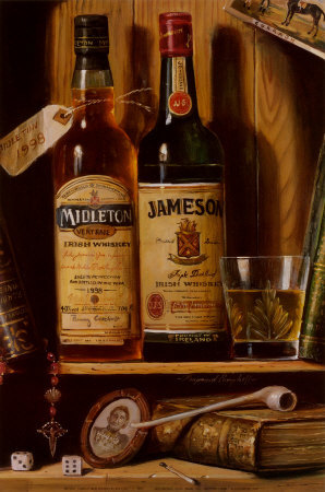 Whisky irlandais Jameson Reproduction d'art