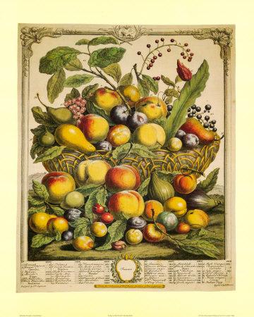 Fruits of the Season Summer Print by Robert Furber