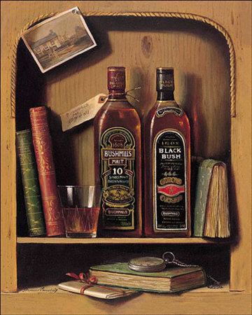 Bushmills Posters by Raymond Campbell