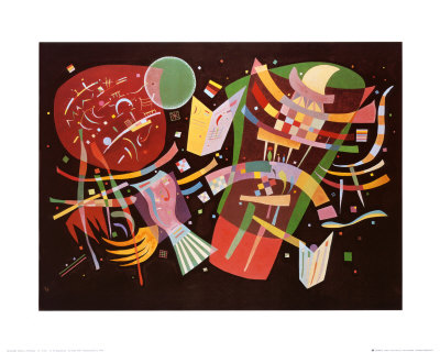 Komposition X abstract artwork by Wassily Kandinsky