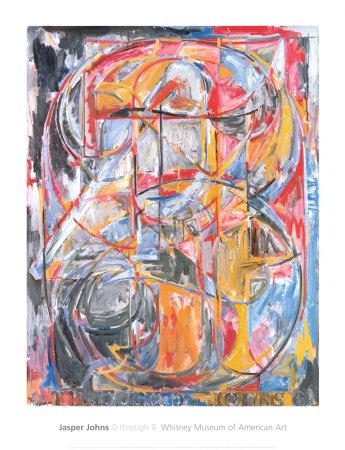 0 Through 9, 1961 Prints by Jasper Johns