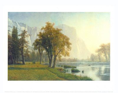 El Capitan, Yosemite Valley, California, 1875 Prints by Albert Bierstadt