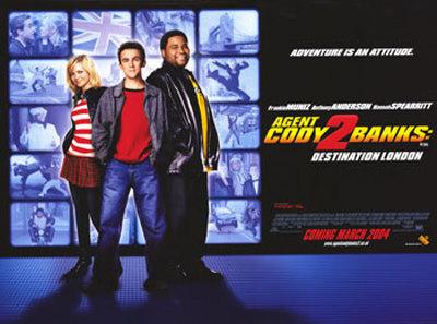 Agent Cody Banks 2- Destination London Posters