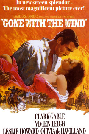 Lo que el viento se llevó (Gone with the Wind) Poster Print