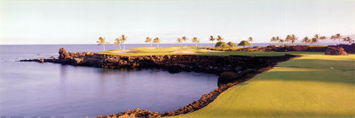 Golf Course, HawaII Resort Posters