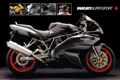 Motorcycle, Ducati Super Sport Photo