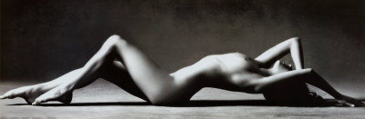 Nude Reclining Poster by Scott McClimont