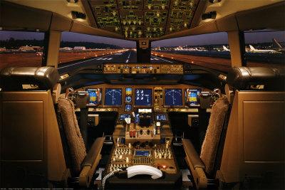 Boeing 777-200 Ponte di volo Stampa su AllPosters.it