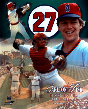 Carlton Fisk - Uniform 27 Retirement Day '00 Collage Photo