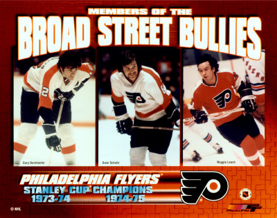 Gary Dornhoefer / Dave Schultz / Reggie Leach - Broad Street Bullies Photo