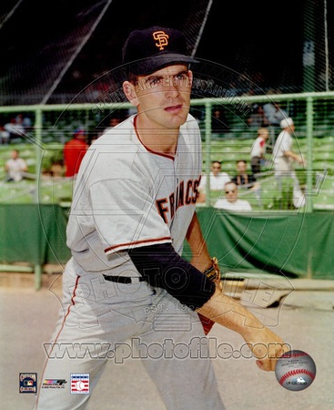 Gaylord Perry - Giants - Pitch Photo