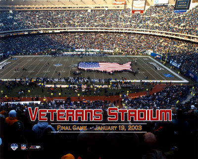 Veterans Stadium - 2003 Final Game Photo