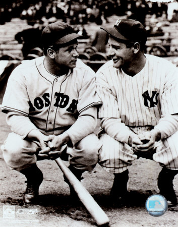 Jimmie Foxx / Lou Gehrig Photo