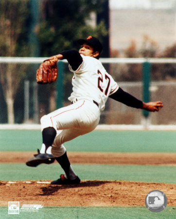 Juan Marichal - Ready to pitch Photo
