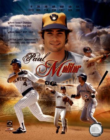 Paul Molitor - Career Legends Composite Photo