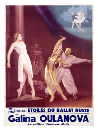 Etoiles du Ballet Russe Giclee Print by A. Wamaw