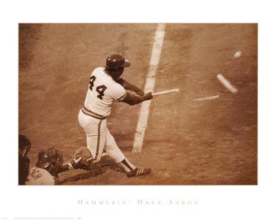 Hammerin' Hank Aaron Plakater