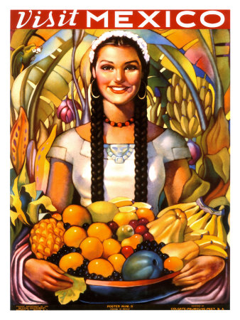 Visit Mexico, 1939 Giclee Print