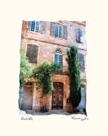 Roussillon Prints by Maureen Love