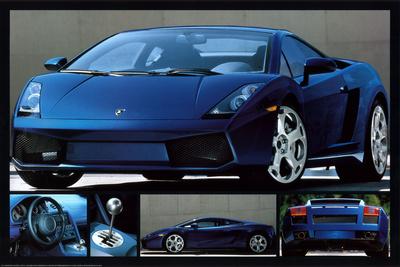 Lamborghini Gallardo plakat