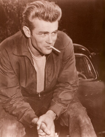 James Dean Affiche format carte