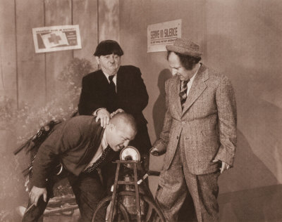 The Three Stooges Poster Card