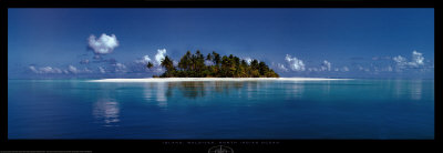 Island, Maldives, North Indian Ocean Posters by Sunset Baumann